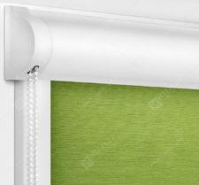 Рулонные кассетные шторы УНИ - Лусто салатовый