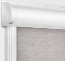 Рулонные кассетные шторы УНИ - Лусто светло-серый