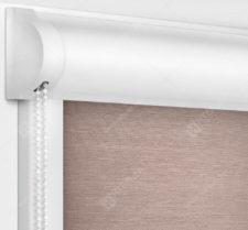 Рулонные кассетные шторы УНИ - Лусто темно-розовый