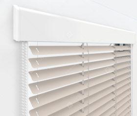 Жалюзи Изолайт 16 мм на пластиковые окна - цвет светло-серый