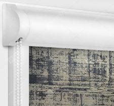 Рулонные кассетные шторы УНИ - Шейд коричневый
