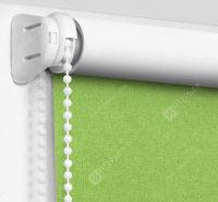 Рулонные шторы Мини - Карина Блэкаут светло-зеленый