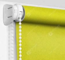 Рулонные шторы МИНИ - Карина лимонный