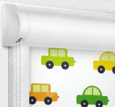 Рулонные кассетные шторы УНИ - Машинки блэкаут