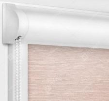 Рулонные кассетные шторы УНИ - Балтик розовый