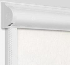 Рулонные кассетные шторы УНИ - Монако кремовый на пластиковые окна