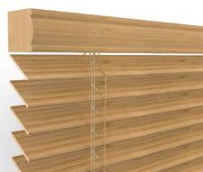 Бамбуковые жалюзи 50 мм, цвет натуральный 50K-303
